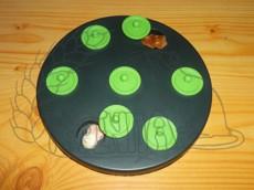 Hra pro hlodavce - deska na pamlsky