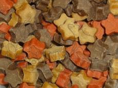 Hvězdičky - losos a jehněčí 140 g