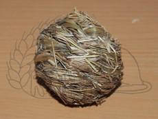 Míček z trávy s rolničkou 6 cm