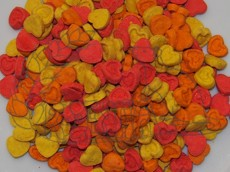 Sušenky srdíčka - ovoce 120 g
