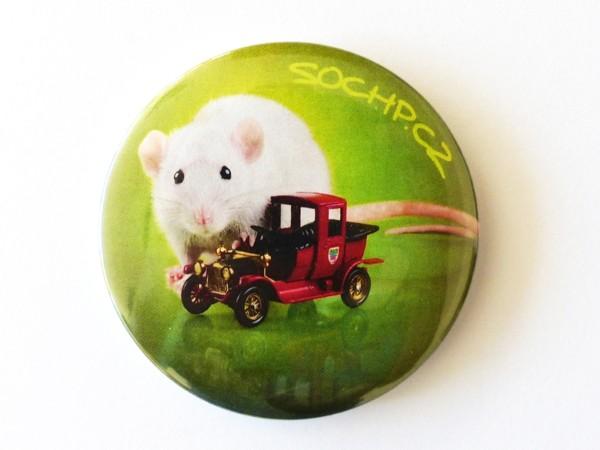 Magnetka: Potkan s autíčkem