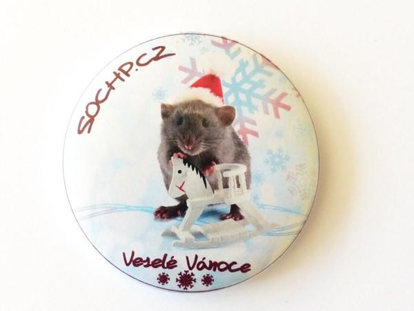 Magnetka: Potkan vánoční