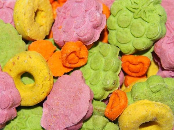 Sušenky ovoce MIX pro hlodavce 120 g