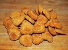 Kokosové sušenky s kurkumou a chia semínky 125 g