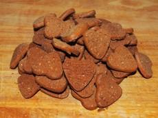 Krůtí sušenky s batáty a jablky 125 g