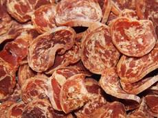 Dukáty ze sušeného jehněčího masa s treskou 40 g