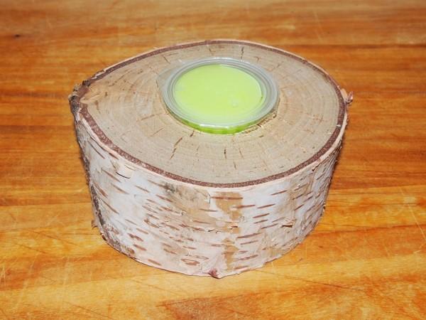Dřevěný stojánek na želé kalíšky