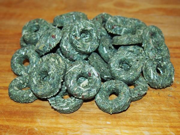 Kroužky s bojínkem, hráškem a tymiánem 80 g
