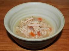 Polévka - kuřecí s mrkví a špenátem 40 g