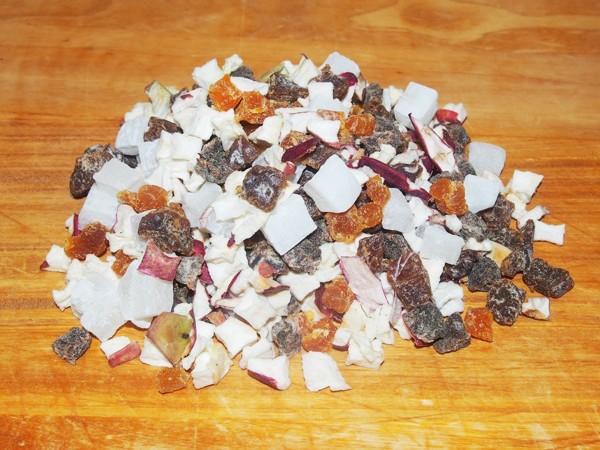 Mini kostičky - ovoce 100 g