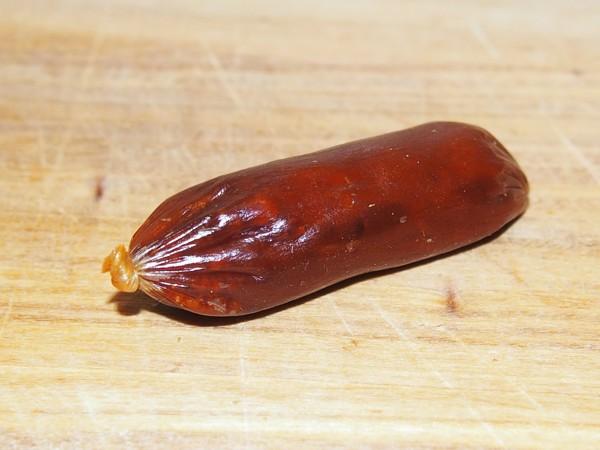 Lososová mini klobáska 5 g