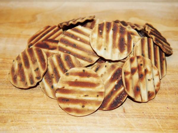 Chipsy s kuřecím masem a petrželí 100 g