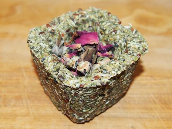 Kopřivo-hrachový kalíšek se semínky a růží 75 g