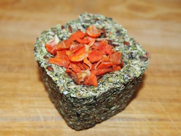 Kopřivo-hrachový kalíšek se semínky a mrkví 75 g
