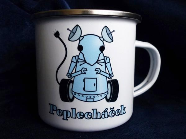 "Plecháček ""Peplecháček"" - modrý 300 ml"
