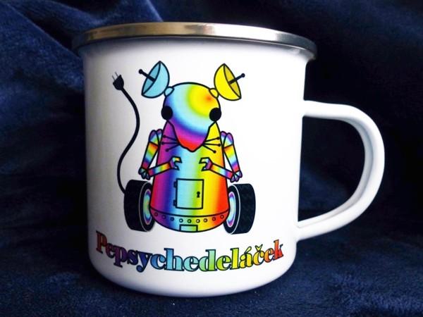 "Plecháček ""Pepsychedeláček"" - duhový 300 ml"