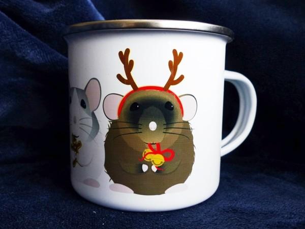 """Plecháček """"Vánoční potkani"""" 300 ml"""