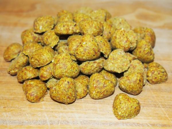 Bezobilné sušenky srdíčka s mrkví 150 g