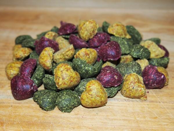 Bezobilné sušenky srdíčka MIX 150 g