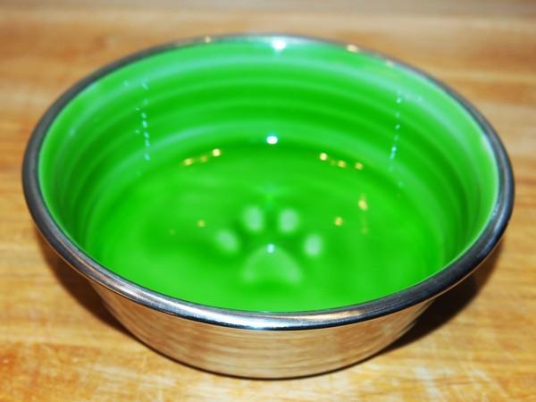 Nerezová miska s glazurou 0,3 l