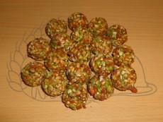 Kuličky s mrkví a hráškem 140 g