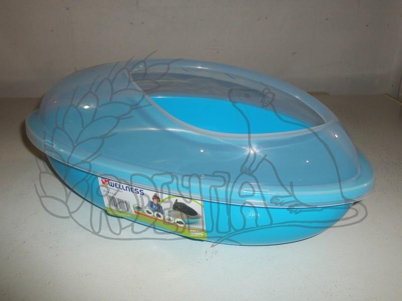 Krytý záchod pro potkany