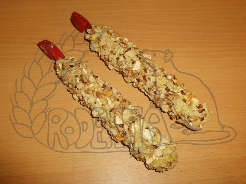 Hryzací tyčinky sýrové 2 kusy