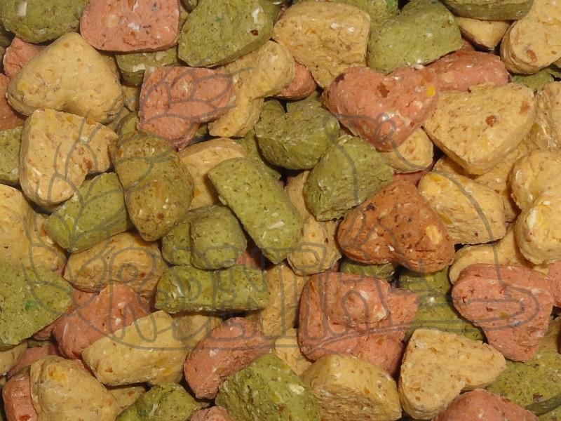Sušenky pro hlodavce - srdíčka 100 g