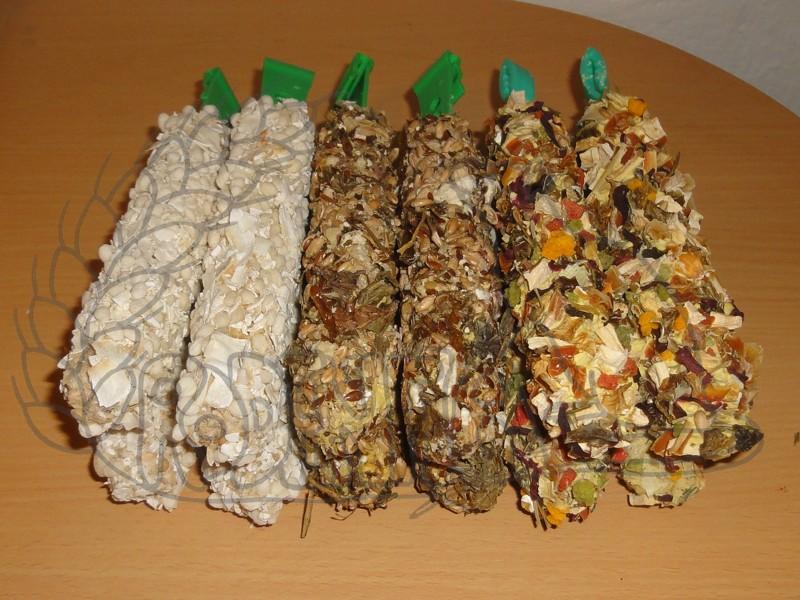 Hryzací tyčinky - 12 kusů / 3 druhy