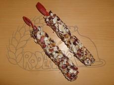 Hryzací tyčinky s kokosem a růží - 2 ks