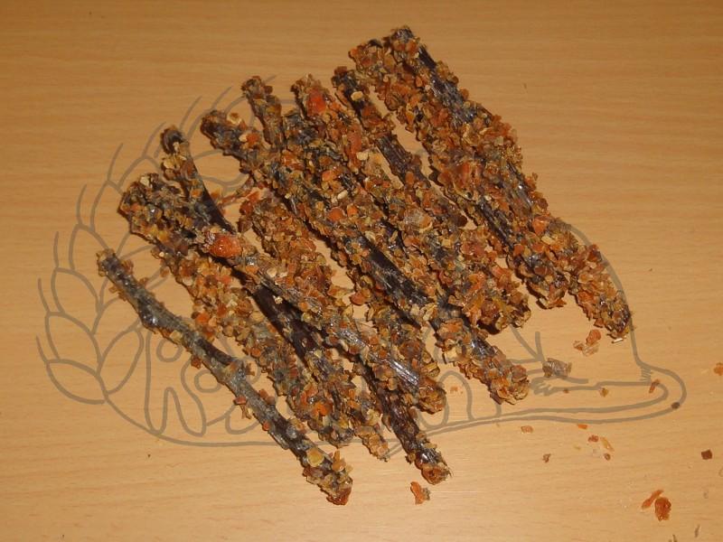 Okusovací větvičky s mrkví 45 g