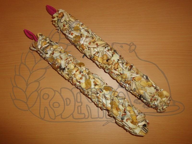 Hryzací tyčinky SMAKERS MEGA ořechy - 2 ks / 450 g