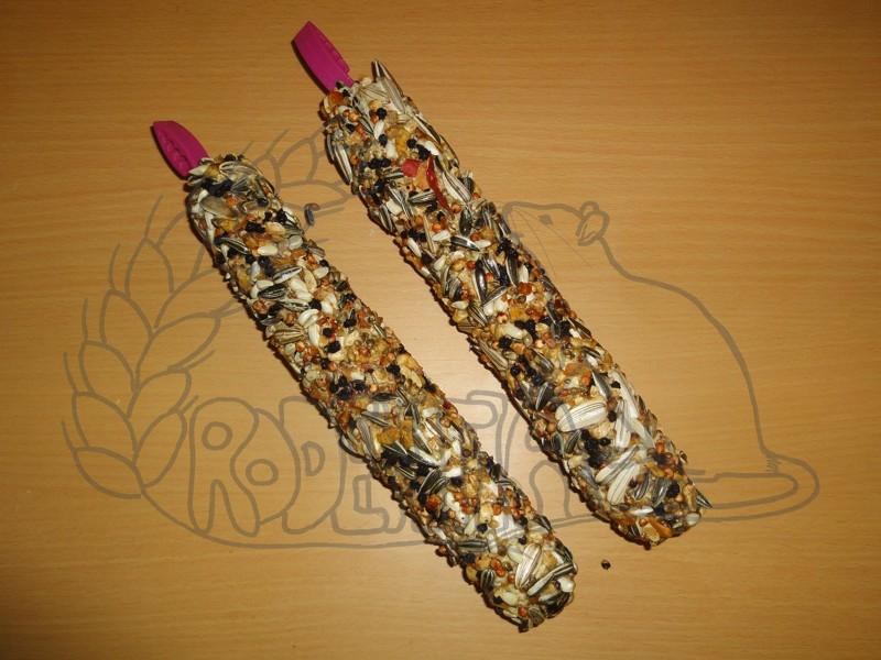 Hryzací tyčinky SMAKERS XXL ořechy a ovoce - 2 ks