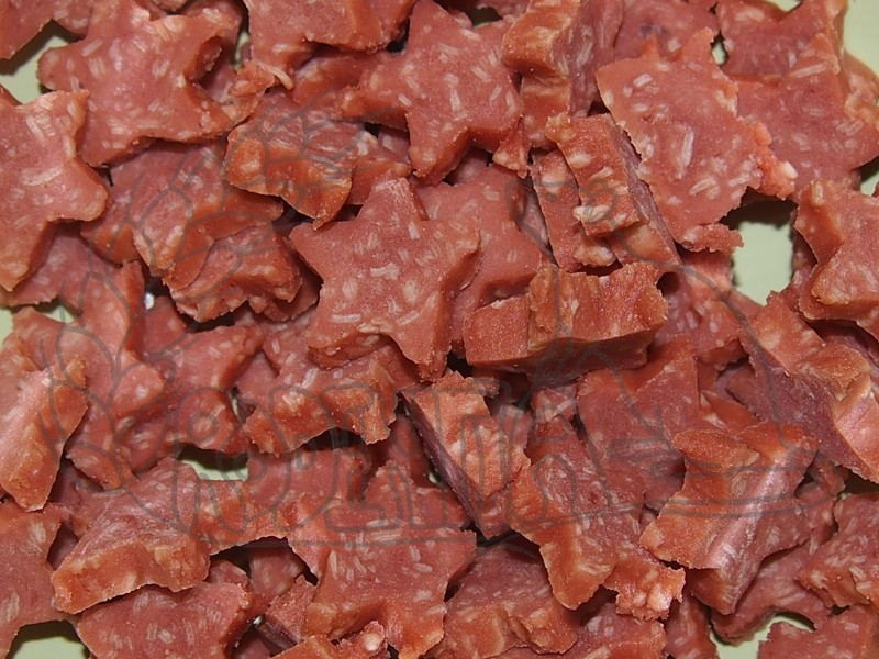 Hvězdičky - kuře a losos 75 g