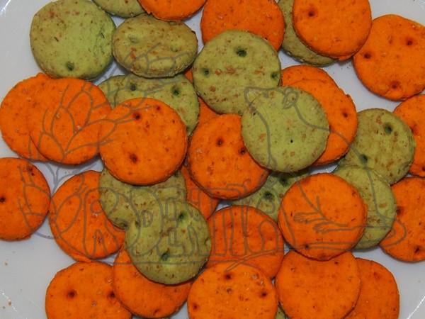 Sušenky zeleninové 120 g