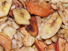 Směs sušených jablek a banánu 100 g