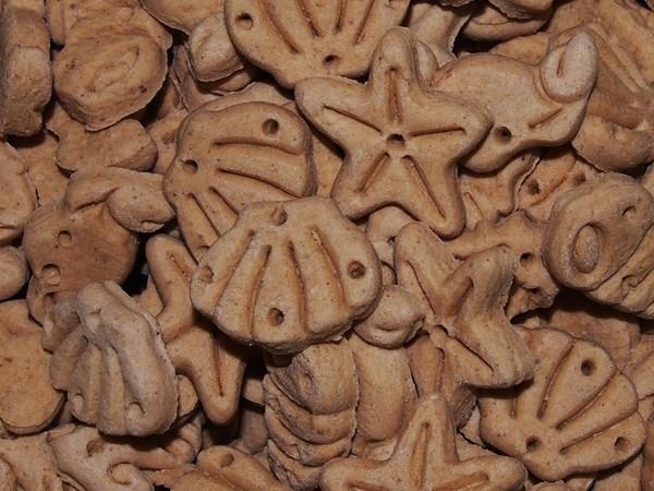 Sušenky s lososem 350 g