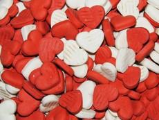 Sušenky srdíčka jahodové 100 g